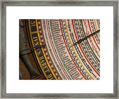 The Medieval Astronomic Clock, The Only Framed Print