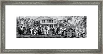 Washington College Women 1917 Framed Print