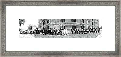 Worcester Continentals Annapolis Md Framed Print