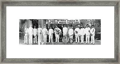 Zanesville Grotto Band Framed Print