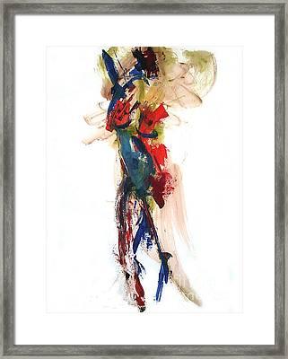 04160 Joy Framed Print