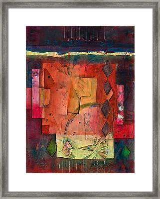 Inside The Box Framed Print by Marie Cummings