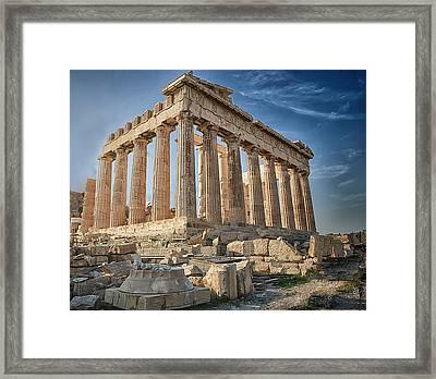 Acropolis Framed Print