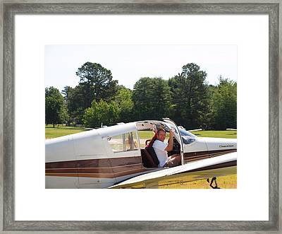 Another Flight Framed Print by Robert Margetts