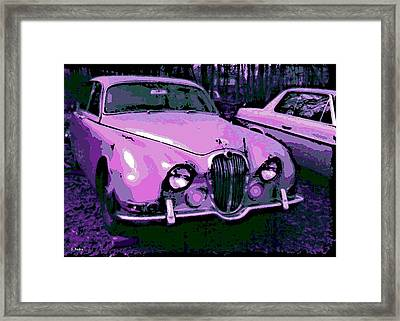 Classic In Pink Framed Print by George Pedro