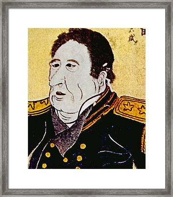 Commodore Matthew C. Perry 1794-1858 Framed Print