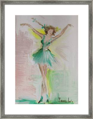 Dance Framed Print by Laurie L