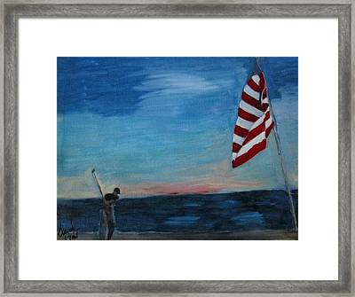 Hole In One Framed Print by David Poyant