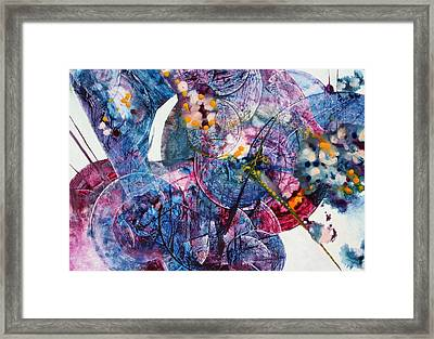 Opus - Two Framed Print by Mudrow S