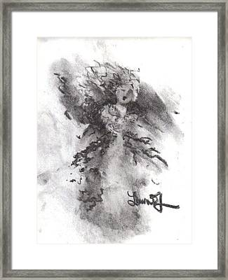 Rapture Of Peace Framed Print by Laurie L