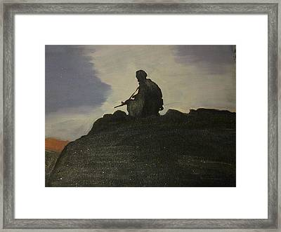 Watching Over Us Framed Print by David Poyant