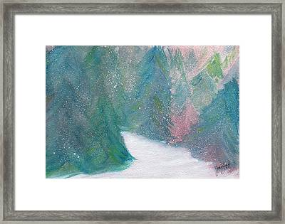 Winter Framed Print by Joan Zepf