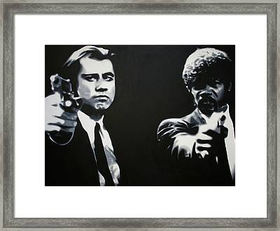 - Pulp Fiction - Framed Print