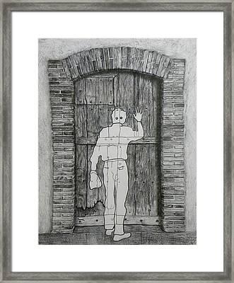 Being Taken Framed Print by Riccardo Alone
