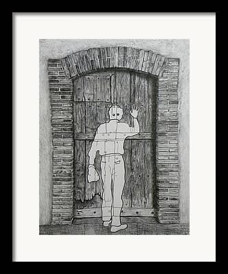 Etant Donnes Framed Prints
