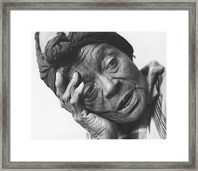 Born A Slave Framed Print by Jim Wright