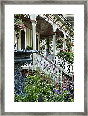 Cape May Victorian Framed Print by John Greim