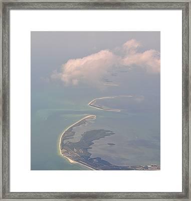 Honeymoon Island Framed Print by Peter  McIntosh