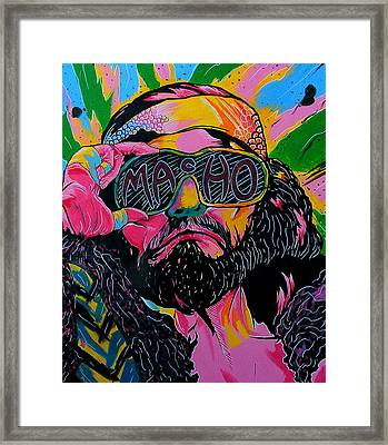 Macho Man Framed Print