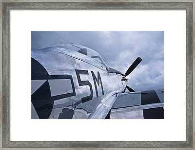 P51 Mustang Framed Print