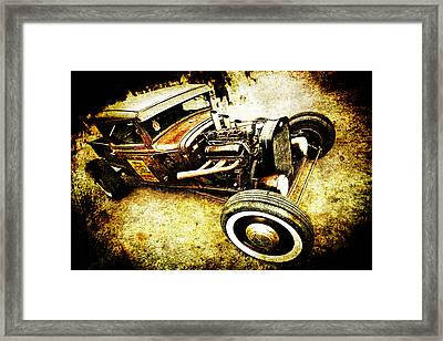 Rusty Rod Framed Print by Phil 'motography' Clark