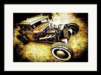 Phil Motography Clark Framed Prints