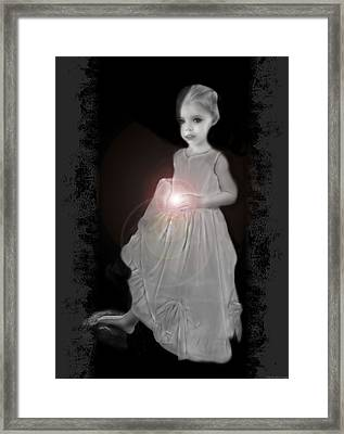 She Brings The Light Framed Print