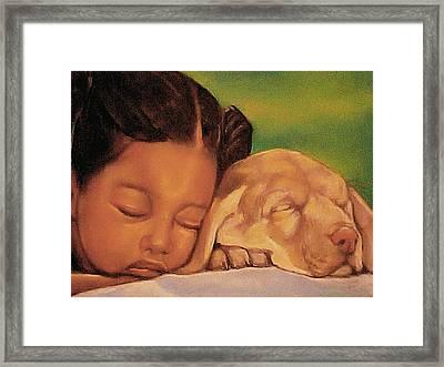 Sleeping Beauties Framed Print