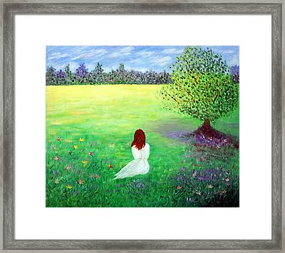 The Meadow..... Framed Print