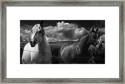 Us Framed Print by Jerry Cordeiro