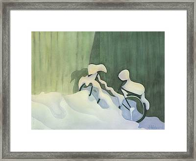 Waiting For Spring Framed Print by Anne Havard