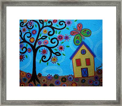 Whimsyland Framed Print by Pristine Cartera Turkus