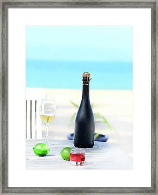 Wine  Framed Print by MotHaiBaPhoto Prints