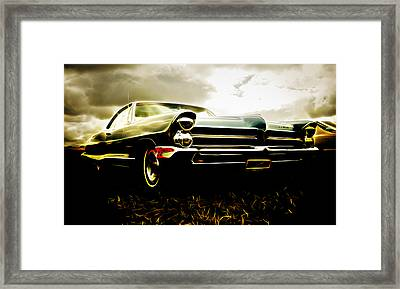 1965 Pontiac Bonneville Framed Print by Phil 'motography' Clark