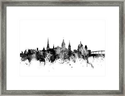 Annapolis Maryland Skyline Framed Print
