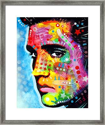 Elvis Presley Framed Print by Dean Russo