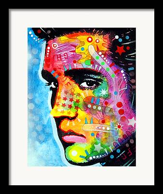 Pop Icon Paintings Framed Prints