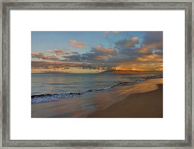 Maui Dawn Framed Print by Stephen  Vecchiotti