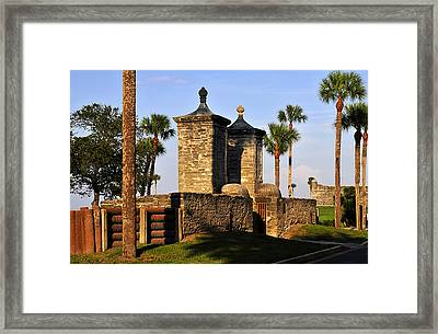 The Old City Gates Framed Print by David Lee Thompson