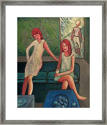 Three Women Framed Print