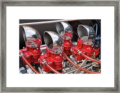 4 Duck Hemi Framed Print