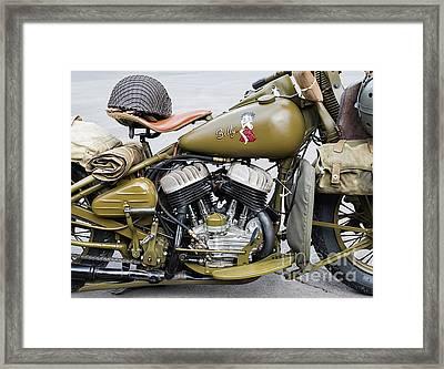 42wlc Harley Framed Print