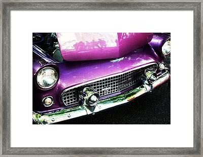'56 Thunderbird Framed Print
