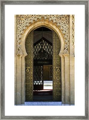 Morocco - Maroc Framed Print