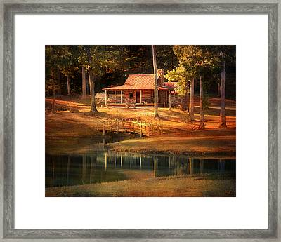 A Place To Dream Framed Print by Jai Johnson
