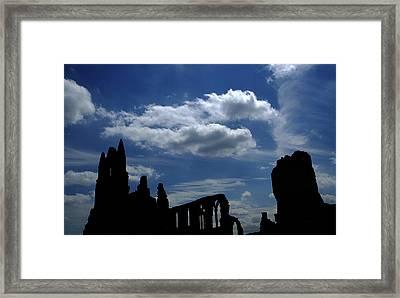 Abbey Skyline Framed Print