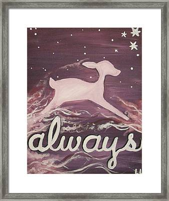 After All This Time Framed Print by Lisa Leeman
