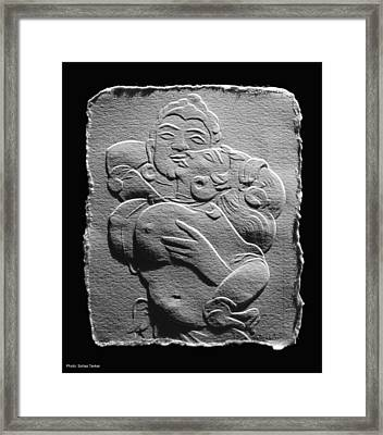 Ajanta Lovers1 Framed Print