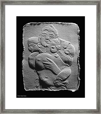 Ajanta Lovers1 Framed Print by Suhas Tavkar