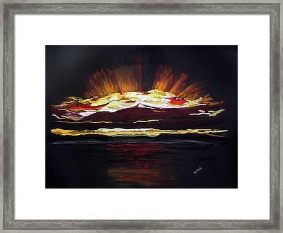 Almost Sunrise Framed Print by Diane Frick
